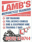 Lambs Motorcycle Training 632689 Image 0